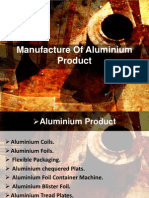 Manufacturers of Aluminium Products in India