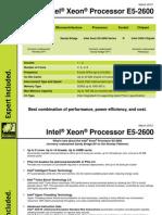 Intel® Xeon® Processor E5-2600 Guide, Silicon Mechanics