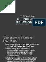 E – PR