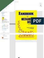 Handbook of Mechanical Design - Maitra, L. v. Prasad - Google Books