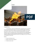 Homam - Fire Ritual for God