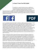 Compra Facebook le Gusta Y Fans Con Rápido Suministro