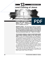3rd Quarter 2014 Lesson 13 the Second Coming of Christ Easy Reading Edition