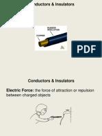 Conductors Insulators Lesson