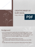 Surf Excel Creative Brief Copy