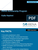 IRENA Presentation_Kalle Hashmi_August 28 2014 Final