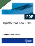 Competitividad Laboral Karlos La Serna