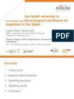 Using Bayesian belief networks to analyse social-ecological conditions for migration in the Sahel