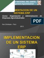 Implementacion de Un Sistema ERP