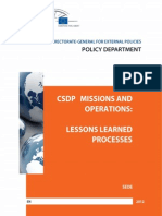 CSDP Missions and Operations