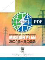 Indian Electrical Equipment Industry Mission Plan 2012-2022
