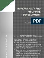 Bureaucracy and Philippine Development
