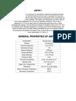 AMTIR 1 Infrared optics material Information