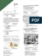 Evaluación Diagnóstica. Cuarto grado