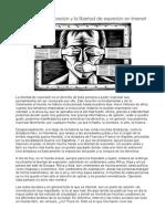 Libertad de Expresión y Libertad de Expresión en Internet