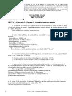 Lucrare Stagiu Anul II Sem I, Acces 2012-1