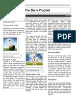 global science newspapper