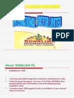 14817738 Presentation of Sonalika Tractors