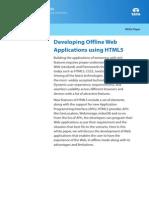 TEG Whitepaper Developing Offline Web Application Using HTML5