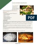 Ciuperci Cu Brocoli Gratinate
