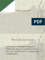 Work Measure
