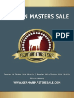 German Masters Sale - CATALOGUE