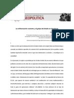 La militarización reciente y el golpe de Estado en Honduras