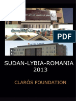 Humanitarian trip Sudan Libia and Rumania 2013