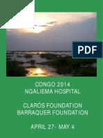 Humanitarian trip Congo 2014