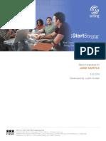 IStartstrong Career Report