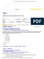 - Questões de Concursos Públicos Sobre Émile Durkheim e Os Fatos Sociais