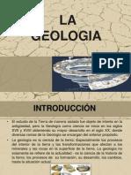 Diapositivas de La Geologia