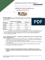 Información Precio Público Curso 2014-15