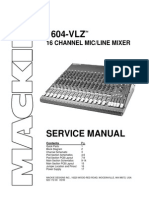Mackie 1604-VLZ 16 Channel Mixer
