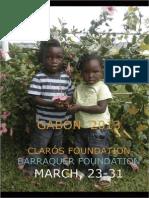 Humanitarian trip Gabon 2013