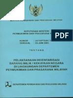 Permen Inventarisasi Barang Milik Negara