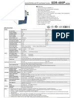 SDR 480P Spec