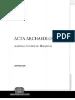 Ostatki Textilya v Arkheologicheskom Nasledii