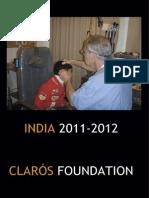 Humanitarian trip India 2011-2012