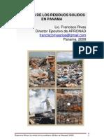 Crisis de Residuos Solidos Panama