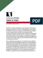 La Herencia Maldita. Por Mario Vargas Llosa