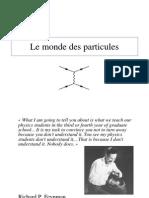 Le Monde Des Particules