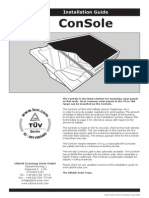 Solar Console Installation Manual