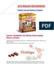 Kit Completo Bolos Decorados