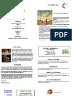 Oakmont UMC Newsletter October 2014