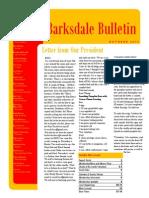 Barksdale OSC October 2014 Newsletter