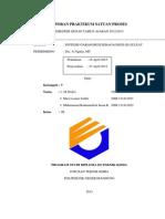 Laporan Praktikum Satuan Proses Feso4