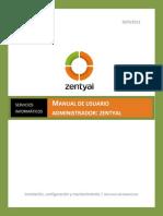 Manual Zentyal
