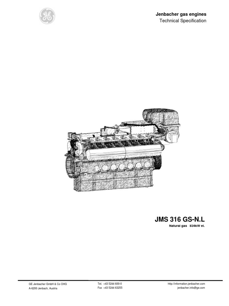 JMS 316 GS-N.L: Technical Specification