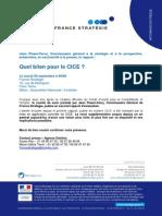 Invitation - France Stratégie - Bilan CICE